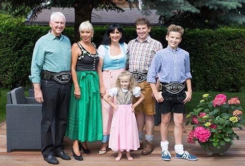 Ihre Gastgeber-Familie Zinner-Pale
